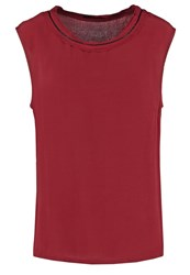 Sisley Blouse Red