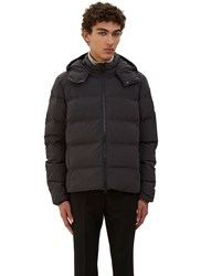 Ecoalf Verbier Quilted Down Jacket Grey