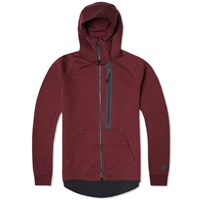 Nike Tech Fleece Hero Hoody Team Red And Black