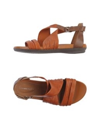 Stonefly Sandals Tan