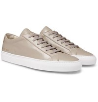 Common Projects Original Achilles Leather Sneakers Taupe