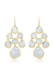 Monica Vinader Gp Siren Chandelier Moonstone Earrings Gold