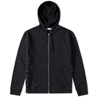Faith Connexion Laced Hooded Sweat Black