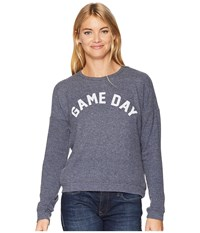 The Original Retro Brand Game Day Super Soft Hacci Pullover Navy Haaci Clothing