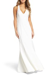 Xscape Evenings Women's T Back Mermaid Gown