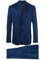 Versace Two Piece Suit Blue