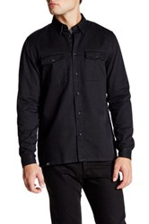 Wesc Olaf Long Sleeve Relaxed Fit Shirt Black