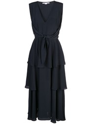 Stella Mccartney Ruffled Dress Black