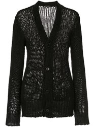 Ann Demeulemeester Fitted V Neck Cardigan 60