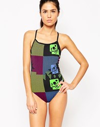 Arena Ska Printed Swimsuit 50