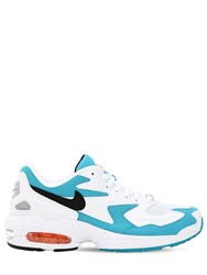 Nike Air Max2 Light Sneakers White Blue