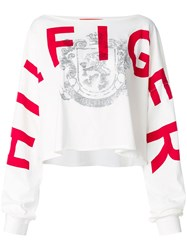Tommy Hilfiger Relaxed Fit Logo T Shirt White