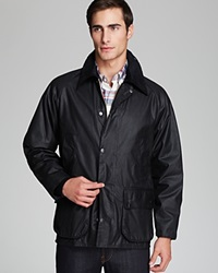 Barbour Classic Bedale Waxed Cotton Coat Black