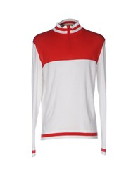 Emiliano Rinaldi Turtlenecks Red