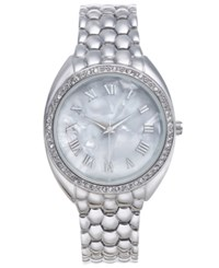 Charter Club Inc International Concepts Silver Tone Women's Bracelet Watch 35Mm Created For Macy's