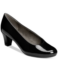 Aerosoles Shore Thing Pumps Women's Shoes Black Patent