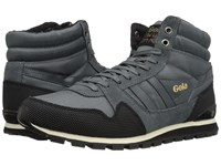 Gola Ridgerunner High Ii Grey Black Men's Shoes Gray