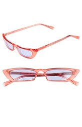 Kendall Kylie Vivian 51Mm Extreme Cat Eye Sunglasses Crystal Pink
