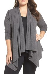 Marika Plus Size Women's Curves Breeze Cardigan Heather Grey