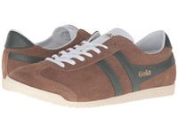 Gola Bullet Suede Tobacco Khaki Men's Shoes Brown