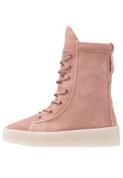Bronx Platform Boots Dusty Pink Rose