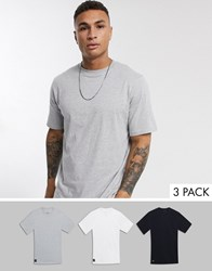 Native Youth Oversized 3 Pack T Shirt Multi