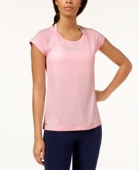 Ideology Performance Open Back T Shirt Created For Macy's Rose Shadow