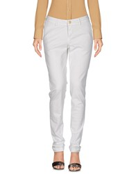 Re Hash Trousers Casual Trousers White