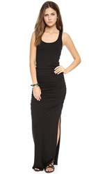 Three Dots Racer Back Maxi Dress Black