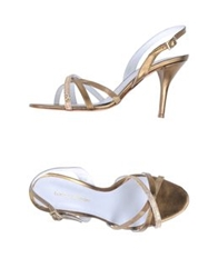Luca Valentini High Heeled Sandals Bronze