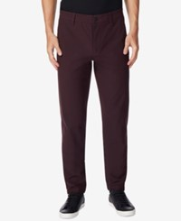32 Degrees Men's Trouser Pants Dark Berry