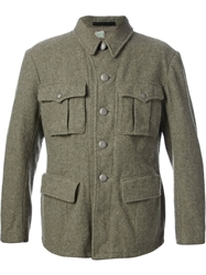 Army Vintage Military Jacket Green