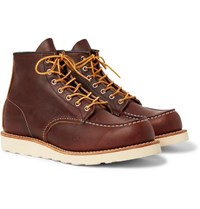 Red Wing Shoes 8138 Moc Leather Boots Brown