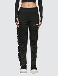 Palm Angels Rouches Track Pants Black