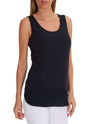 Betty Barclay Layered Vest Top Dark Sky