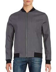 Wesc Lightweight Baseball Jacket Asphalt