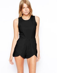 Love Playsuit With Overlay Shorts