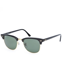 Ray Ban Ray Ban Clubmaster Sunglasses Black