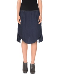 Carven Knee Length Skirts Lead