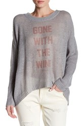 The Laundry Room Beach Bummies Sweater Gray