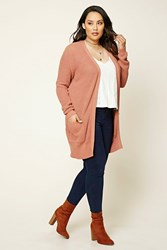 Forever 21 Plus Size Maxi Ribbed Cardigan