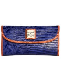 Dooney And Bourke Continental Clutch Wallet Cobalt
