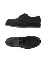 Forfex Footwear Lace Up Shoes Men Black