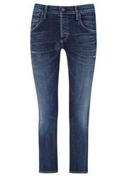 Citizens Of Humanity Emerson Blue Boyfriend Fit Jeans Denim