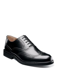 Florsheim Gallo Leather Wingtip Oxfords Black