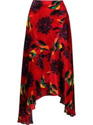 La Doublej Martha Skirt Red