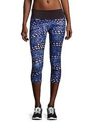 Prismsport Printed Pull On Capri Pants Bricks