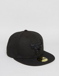 New Era 59Fifty Cap Fitted Chicago Bulls Black