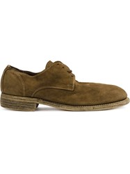 Guidi Derby Shoes Men Leather 47 Brown