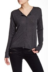 Zadig And Voltaire Cashmere Cardigan Gray